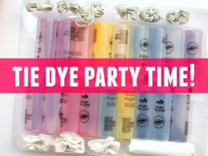 tie dye party time