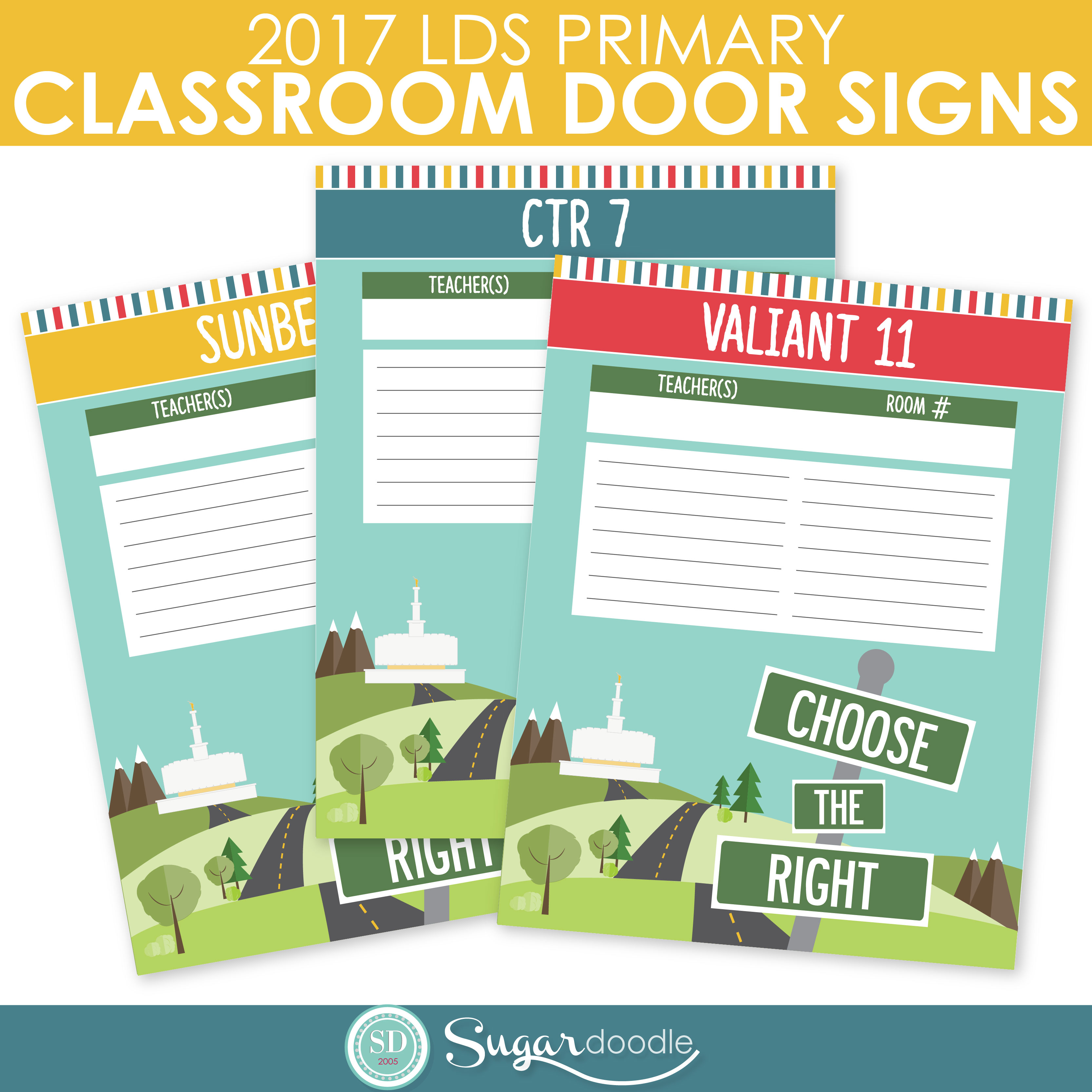 FREE 2017 Primary Printables: Choose the Right | Check out our ...