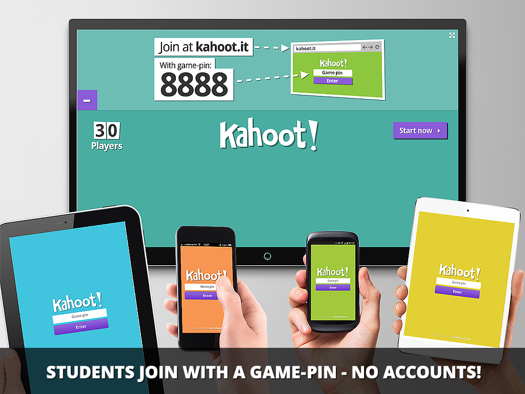 Kahoot is an easy online quiz game...perfect for any LDS classroom