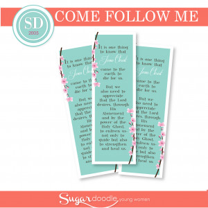 January Come Follow Me Young Women Printable